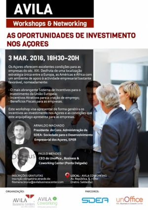 Workshop: As oportunidades de investimento nos Açores