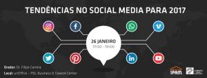 Tendências no Social Media para 2017