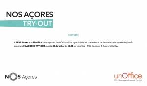 Apresentação Pública do NOS Açores Try Out