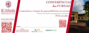 """Conferência """"A importância e o impacto do empreendedorismo na economia""""."""