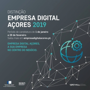 Distinção Empresa Digital Açores 2019