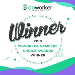 """unOffice é um dos vencedores da edição de 2019 do """"Coworker Members' Choice Awards"""""""